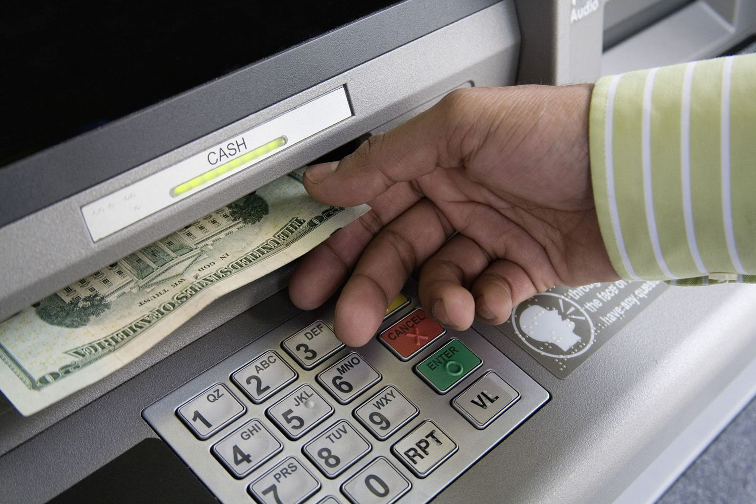pay on Credit card cash withdrawal